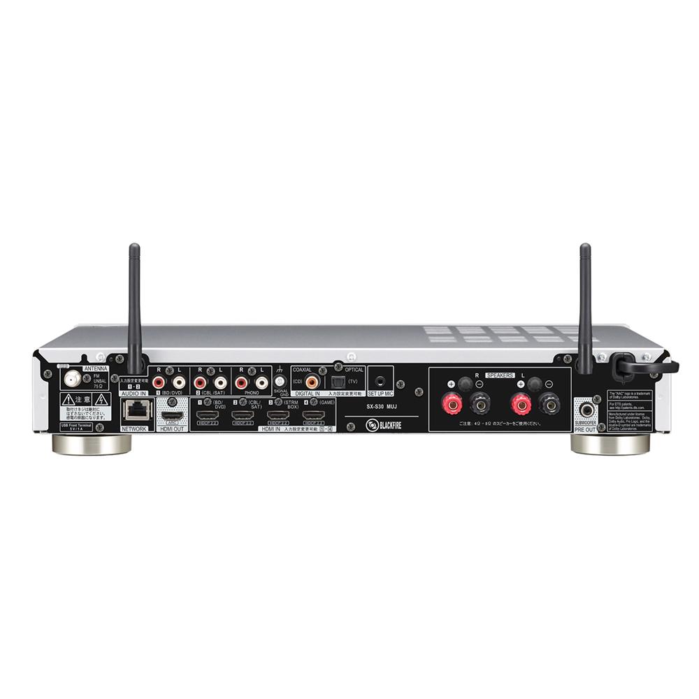 Pioneer - SX-S30/シルバー(ネットワーク・ステレオレシーバー)《JP》【完売】