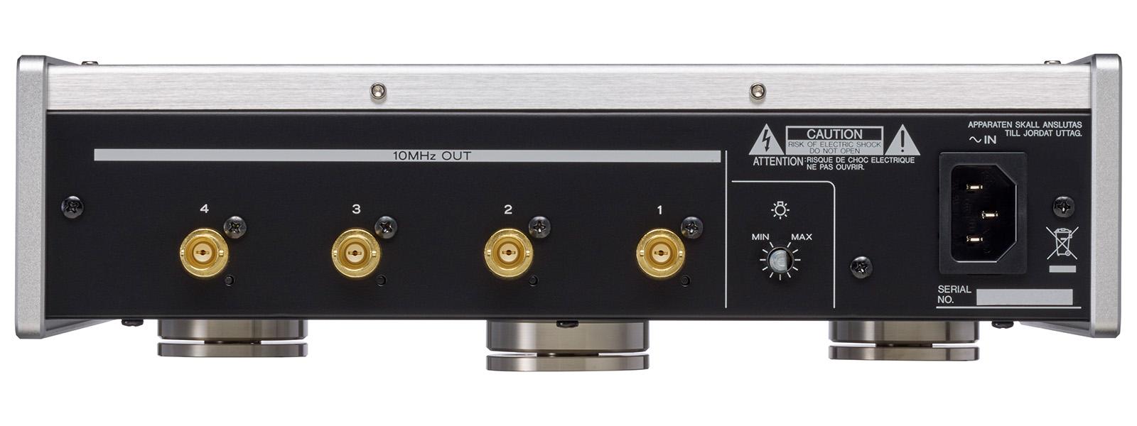 TEAC - CG-10M/シルバー(マスタークロックジェネレーター)《JP》【在庫有り即納】