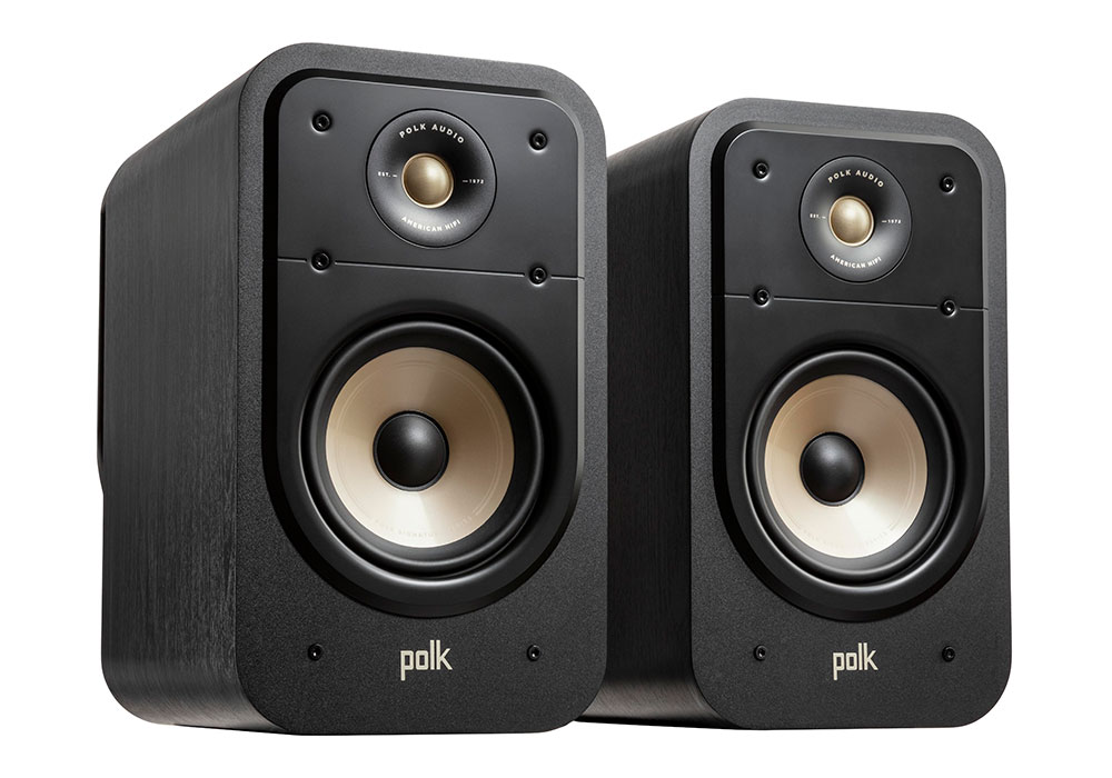 Polk Audio - ES20/BLK(ブラック・ブックシェルフスピーカー・ペア)《JP》【在庫有り即納】