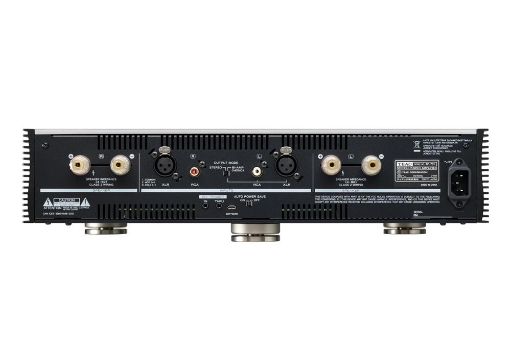 TEAC - AP-701-S/シルバー(ステレオ・パワーアンプ)《JP》【発売日未定・ご予約受付中】