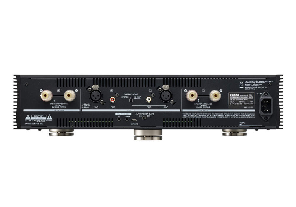TEAC - AP-701-B/ブラック(ステレオ・パワーアンプ)《JP》【発売日未定・ご予約受付中】