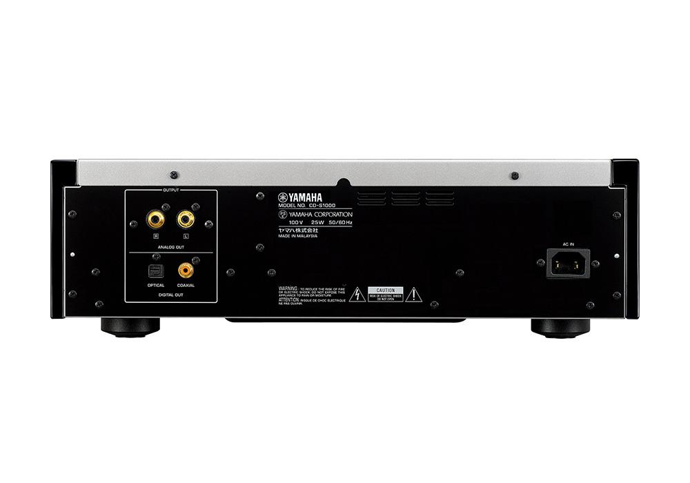 YAMAHA - CD-S1000SP(シルバー・ピアノブラック)(SACD/CDプレーヤ)《JP》【6月18日発売予定・ご予約受付中】