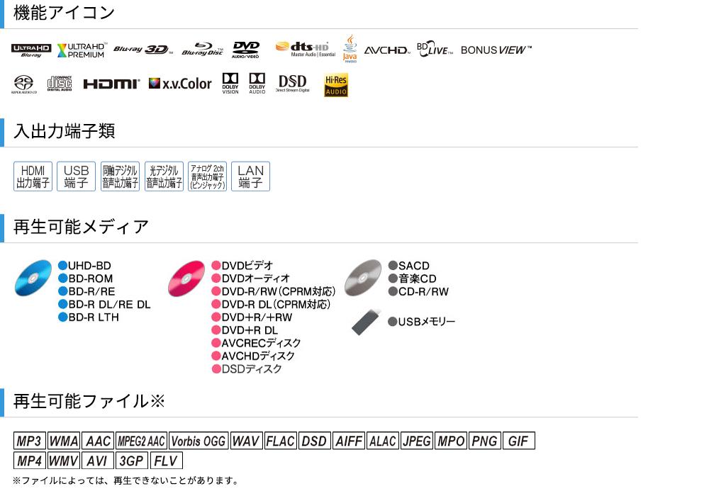 Pioneer - UDP-LX800(Ultra HD Blu-ray対応ユニバーサルディスクプレーヤー)《JP》【次回納期未定・ご予約受付一時見合わせ中】