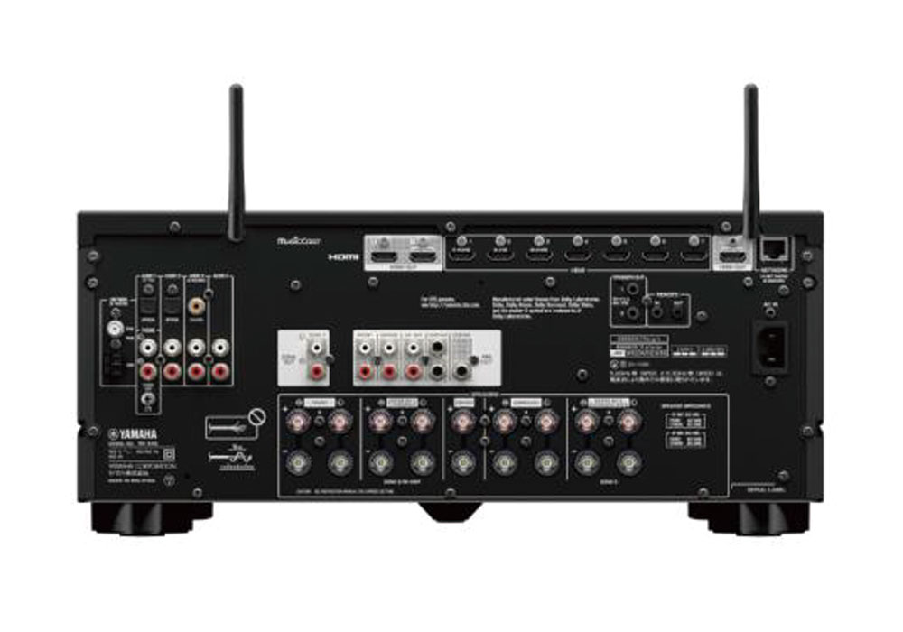 YAMAHA - RX-A4A(ブラック)(7.2ch・AVレシーバー)《JP》【8月27日発売予定・ご予約受付中】
