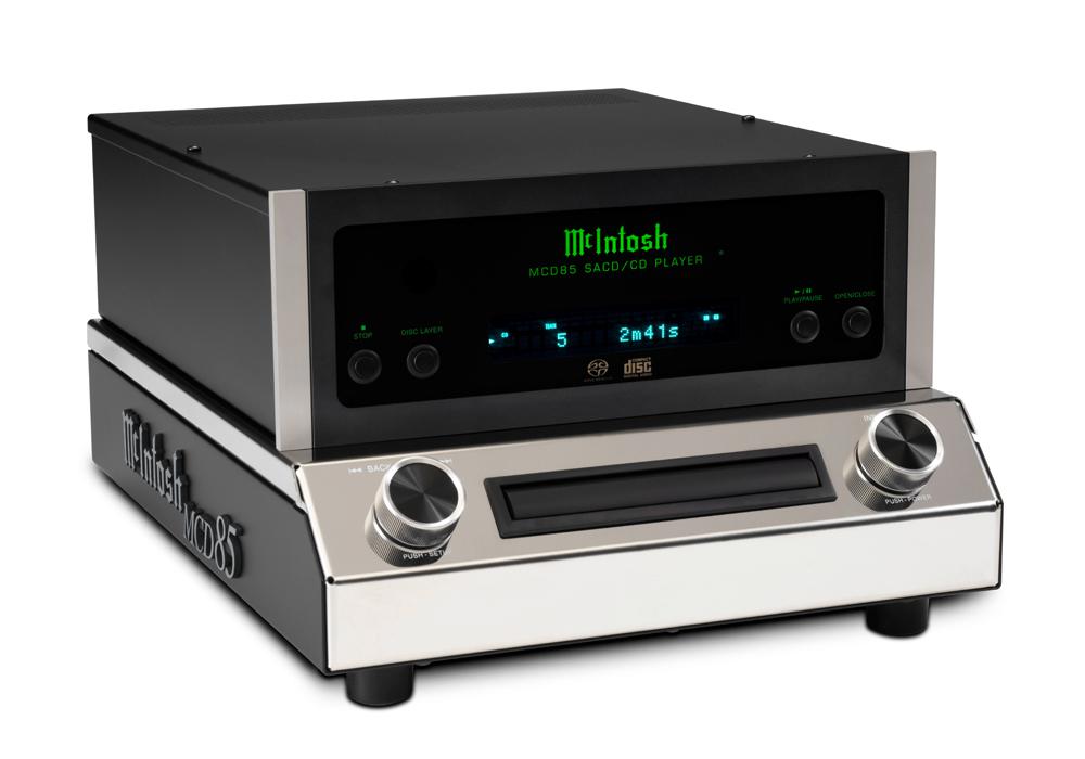 McIntosh - MCD85(SACD/CDプレーヤー)《JP》【メーカー取寄商品・納期を確認後、ご連絡いたします】