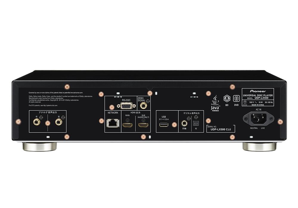 Pioneer - UDP-LX500(Ultra HD Blu-ray対応ユニバーサルディスクプレーヤー)《JP》【完売】