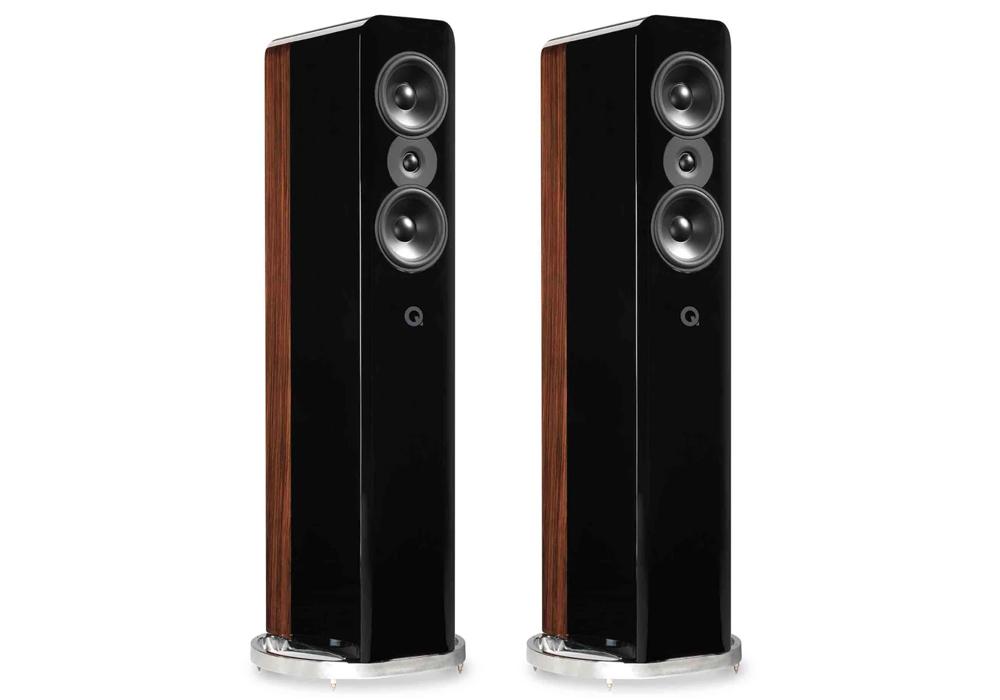 Q-Acoustics - Concept 500/ブラック・ローズウッド(ペア)《JP》【メーカー直送(代引不可)】【受注生産品・納期2ヶ月程かかります】