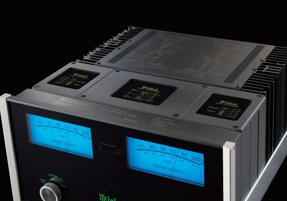 McIntosh - MC312(ステレオパワーアンプ){大型ELE}《JP》【メーカー取寄商品・納期を確認後、ご連絡いたします】