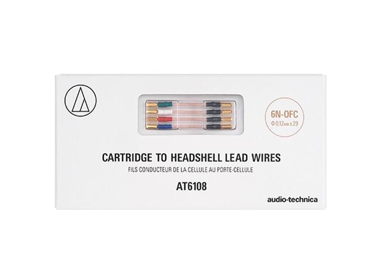 audio-technica - AT6108(カートリッジ用リード線)《JP》