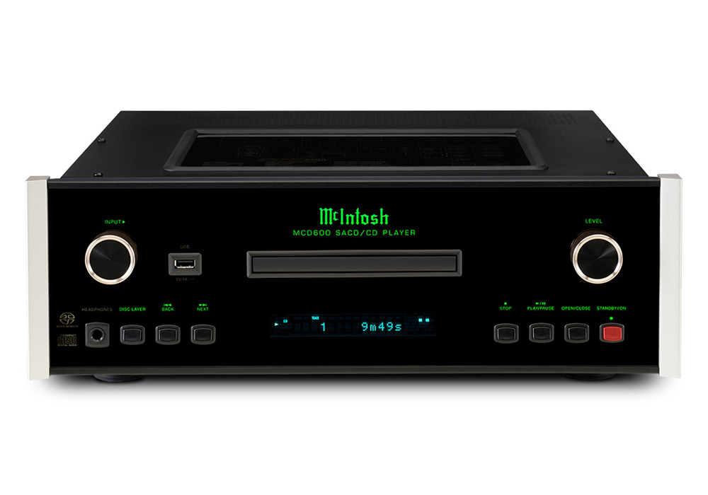 McIntosh - MCD600(SACD/CDプレーヤー)《JP》【在庫有り即納】
