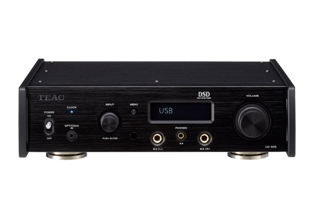 TEAC - UD-505-B/ブラック(USB-DAC内蔵ヘッドホンアンプ)《JP》【在庫限り・在庫有り即納】