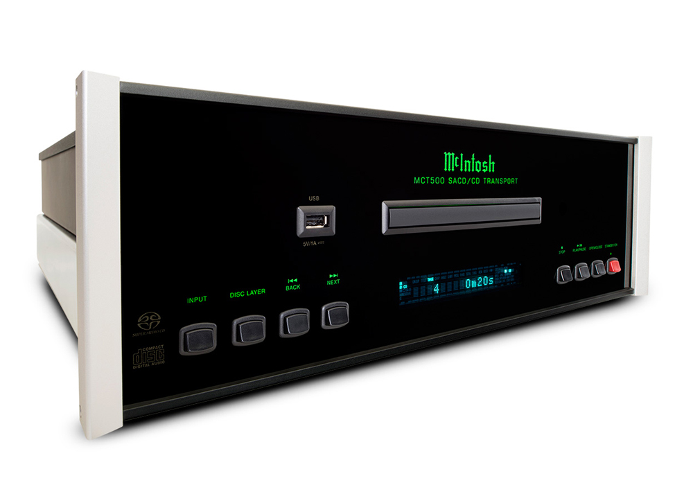 McIntosh - MCT500(SACD/CDトランスポート)《JP》【メーカー取寄商品・納期を確認後、ご連絡いたします】