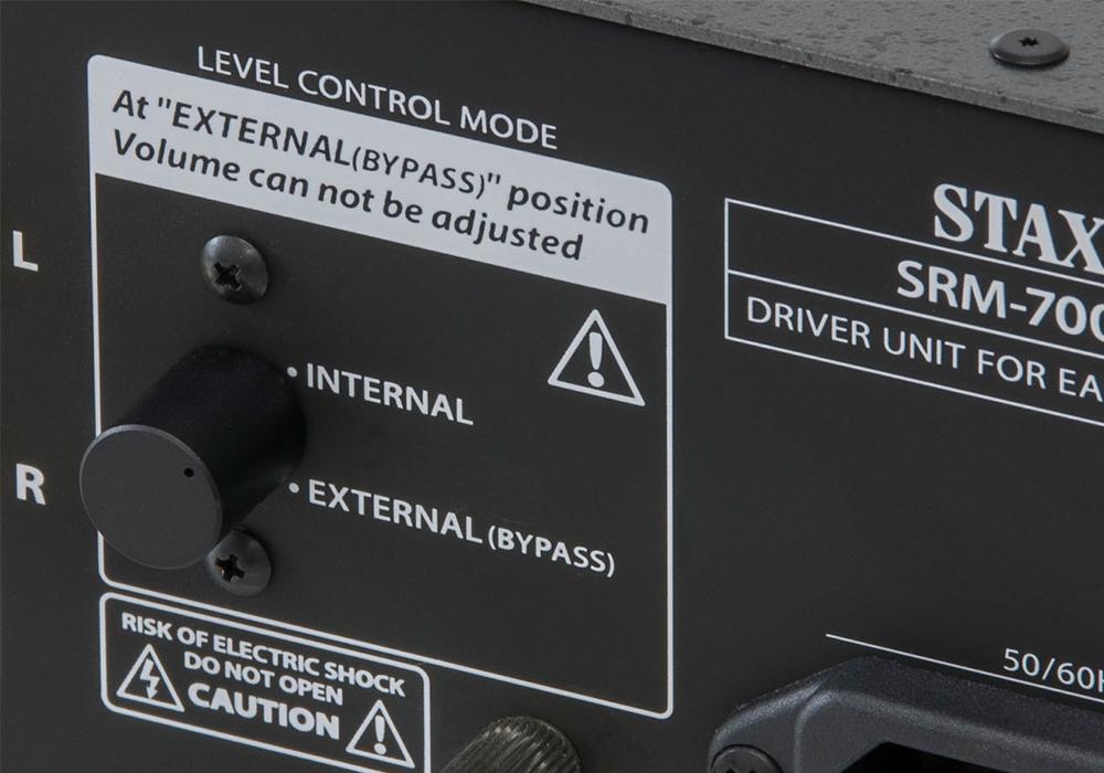STAX - SRM-700T(真空管方式・ドライバーユニット)《JP》【在庫有り即納】