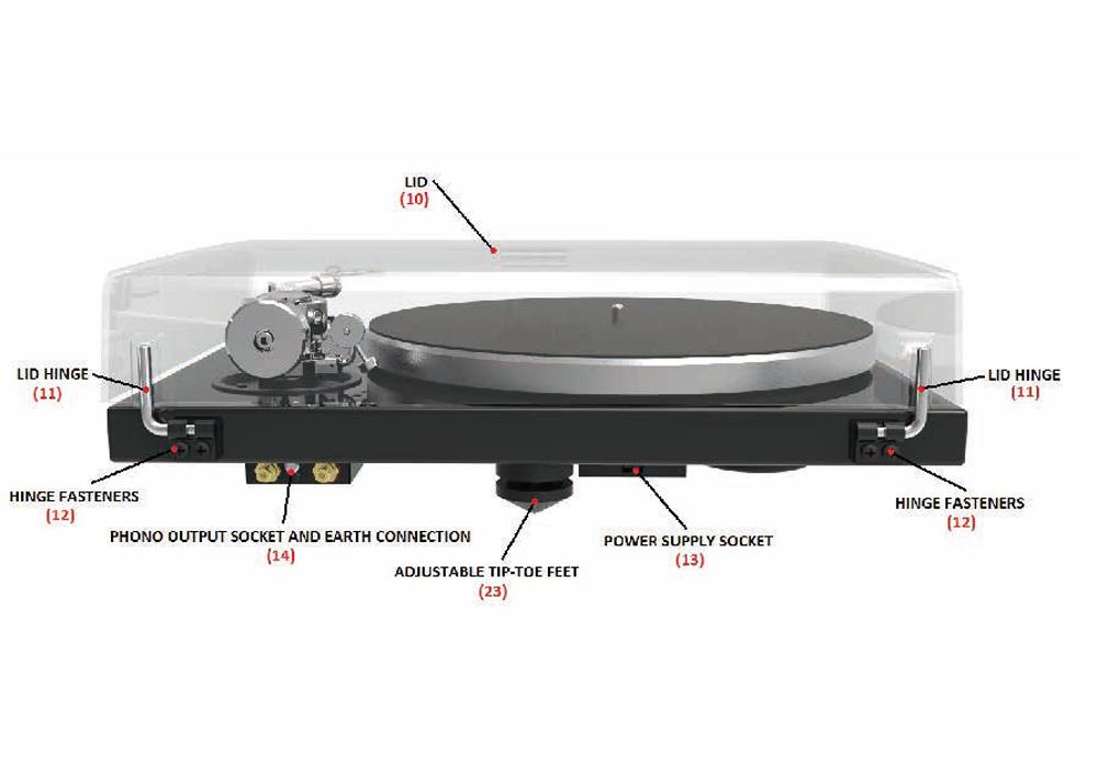 Pro-Ject - 1Xpression Classic S-Shape【カートリッジ別売】(ベルトドライブ方式・レコードプレーヤー)《JP》【完売】