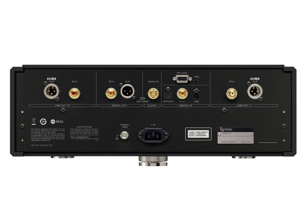 ESOTERIC - K-01XD Black Edition(SACD/CDプレーヤー)(Kシリーズ発売10周年記念モデル・全世界50台限定)《JP》【在庫有り即納】