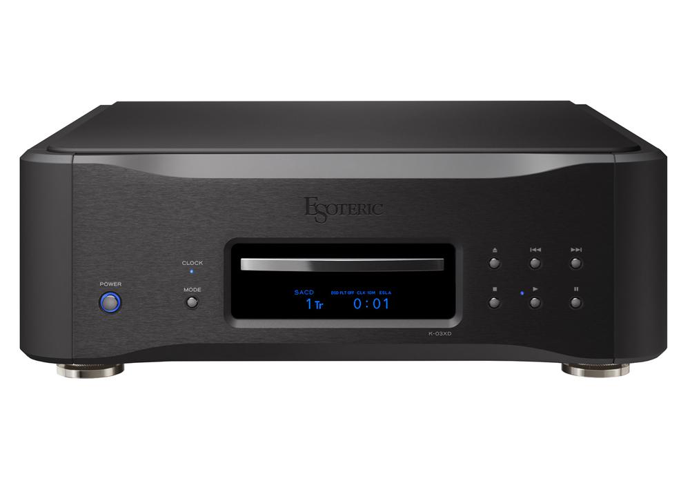 ESOTERIC - K-03XD Black Edition(SACD/CDプレーヤー)(Kシリーズ発売10周年記念モデル・全世界50台限定)《JP》【在庫有り即納】