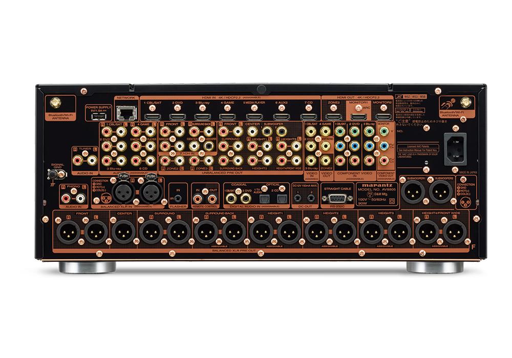 marantz -AV8805A(ブラック)(13.2ch対応・AVプリアンプ)《JP》【在庫有り即納】