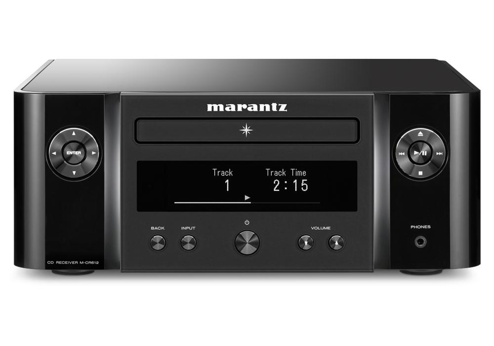 marantz - M-CR612/ブラック(ネットワークCDレシーバー)《JP》【在庫有り即納】