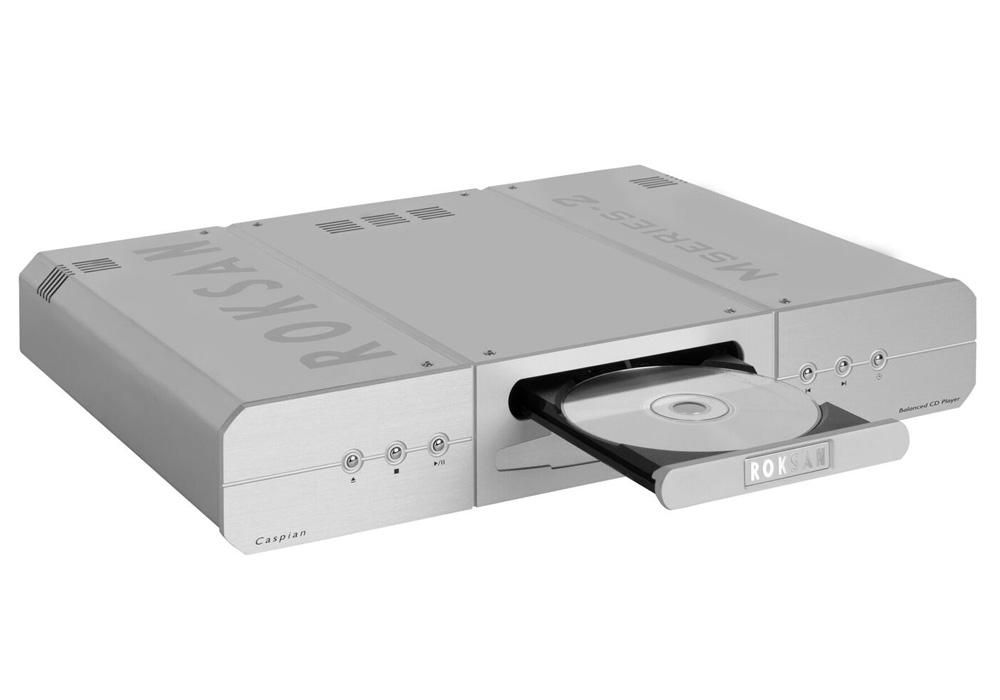 ROKSAN - Caspian CD PLAYER/シルバー(CDプレーヤー)《JP》【メーカー直送商品・納期を確認後、ご連絡いたします】