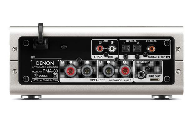 DENON - PMA-30/プレミアムシルバー(プリメインアンプ)《JP》【在庫有り即納】