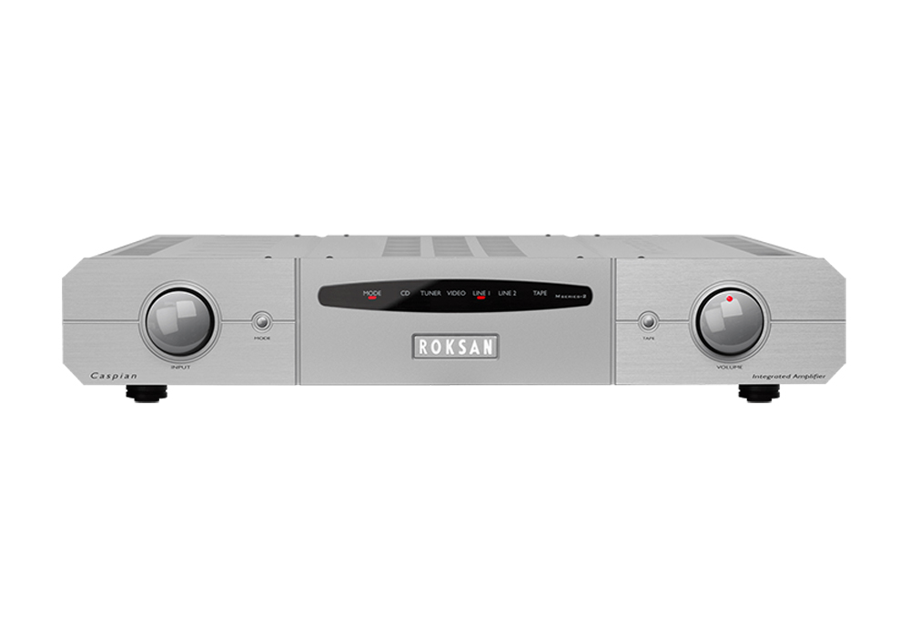 ROKSAN - Caspian Integrated AMP/シルバー(インテグレーテッドアンプ)《JP》【メーカー直送商品・納期を確認後、ご連絡いたします】