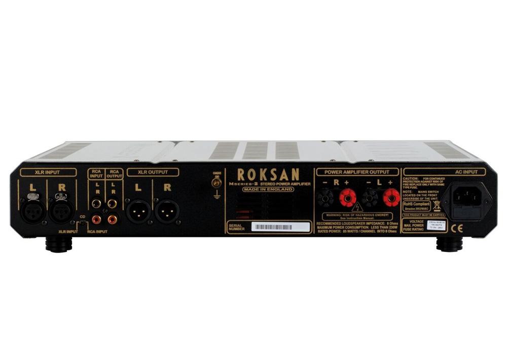 ROKSAN - Caspian Power AMP/シルバー(パワーアンプ)《JP》【メーカー直送商品・4〜7営業日でお届け可能です※メーカー休業日除く】