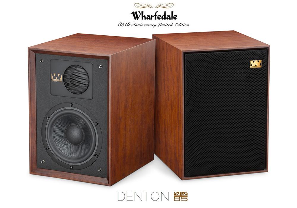 Wharfedale - Denton85/マホガニーレッド(ペア)(85周年記念限定モデル)《JP》【メーカー在庫有り即納】