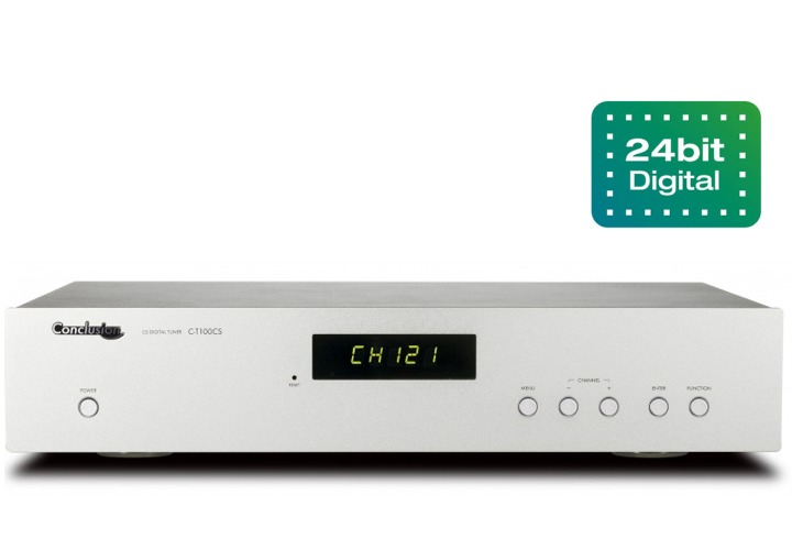 Conclusion - C-T100CSXi(タイムシフトコントローラー対応・楽曲ディスプレイ対応・高音質ミュージックバード専用チューナー)《JP》【在庫有り即納】