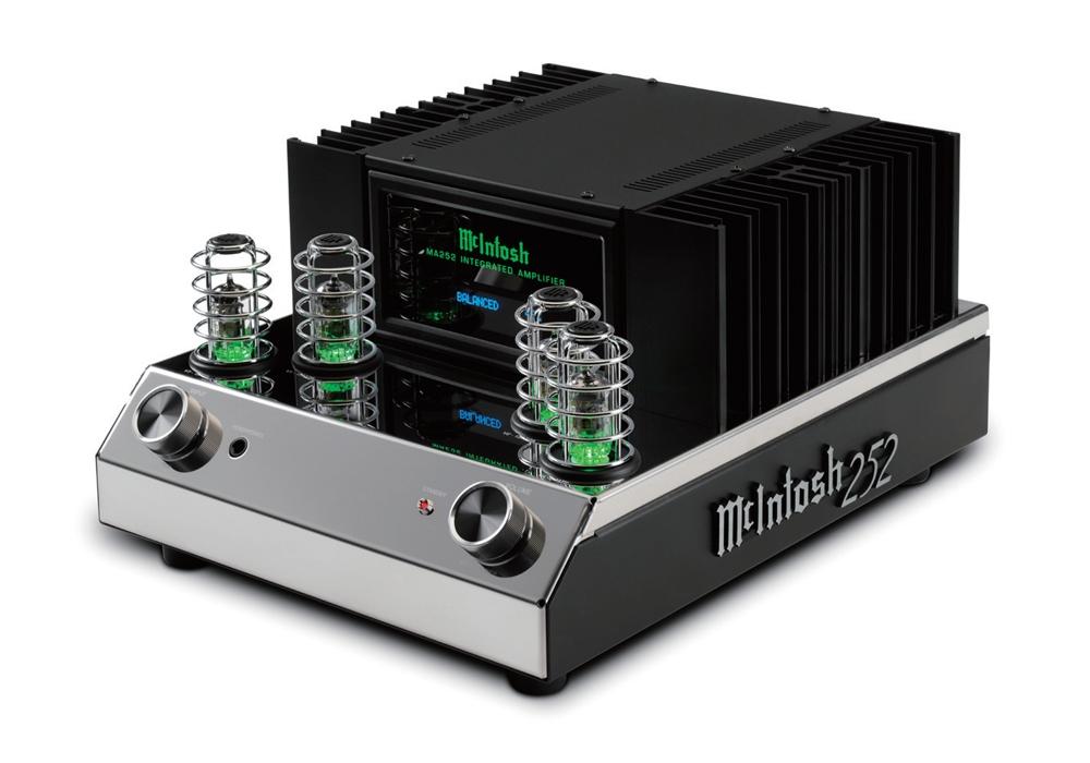 McIntosh - MA252(ハイブリッド・プリメインアンプ)《JP》【メーカー取寄商品・納期を確認後、ご連絡いたします】