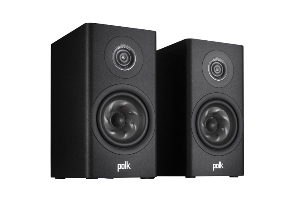 Polk Audio - R100/BLK(ブラック・ブックシェルフスピーカー・ペア)《JP》【在庫有り即納】