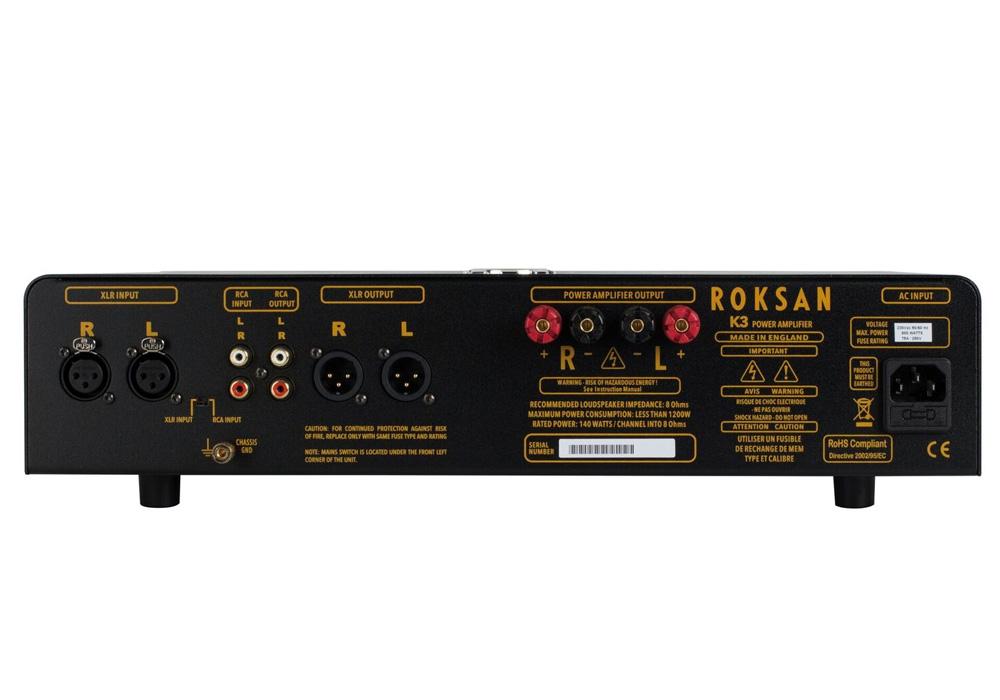 ROKSAN - K3 Power AMP/アンスラサイト(パワーアンプ)《JP》【メーカー直送品(代引不可)・4〜7営業日でお届け可能です※メーカー休業日除く】