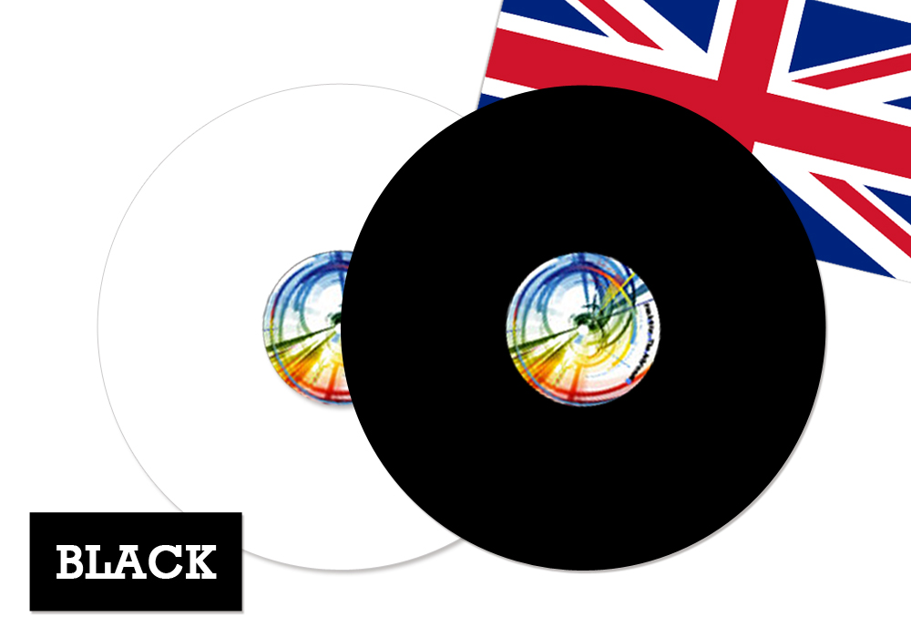 FUNK FIRM(ファンクファーム) - ACHROMAT-BK/3mm(ブラック)(ターンテーブルマット)《JP》【完売】