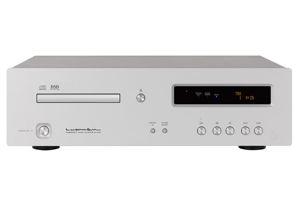 LUXMAN - D-03X/ブラスターホワイト(MQA対応・CDプレーヤー)《JP》【次回納期未定・ご予約受付中】