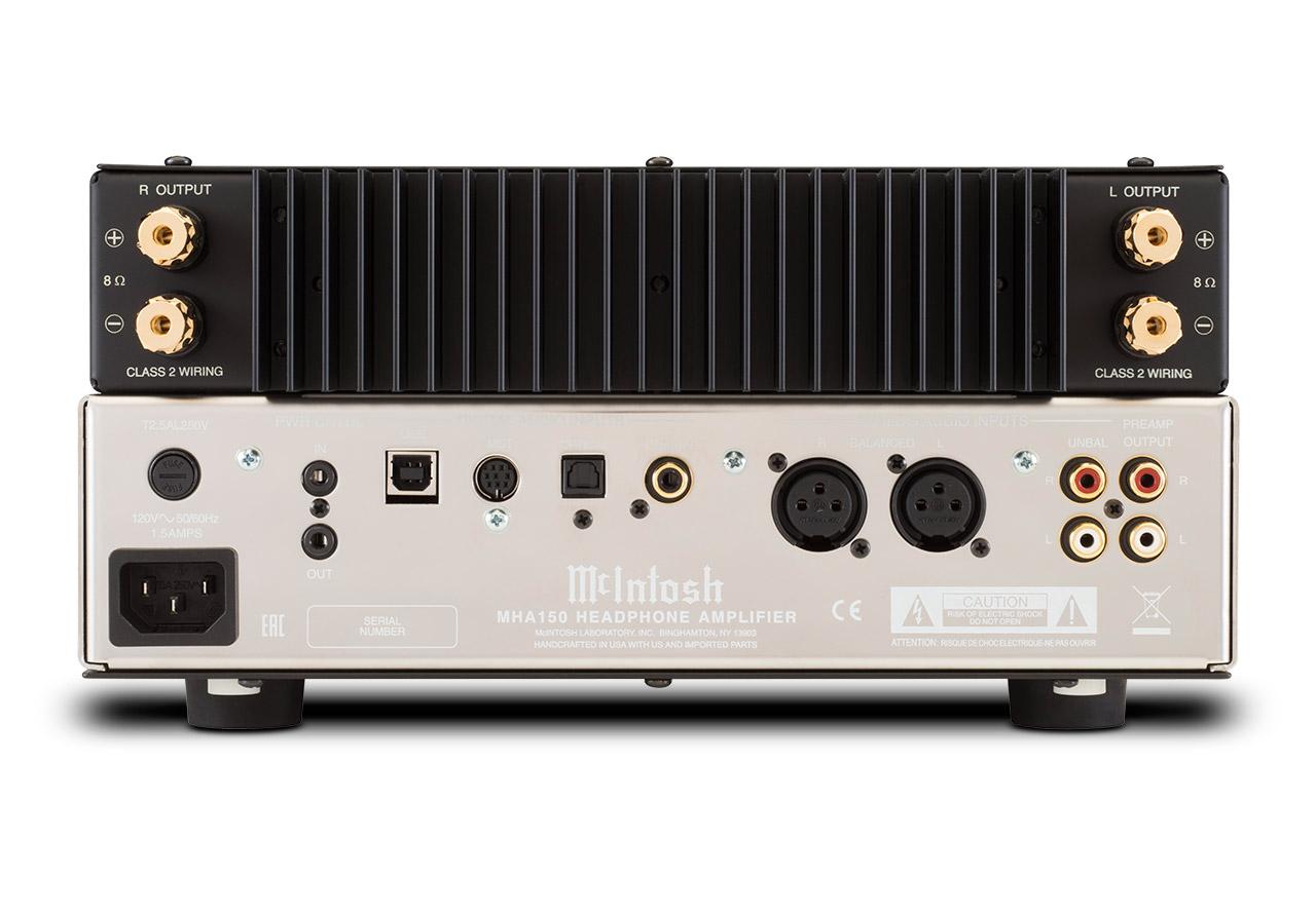 McIntosh - MHA150(ヘッドホンアンプ)《JP》【メーカー取寄商品・納期を確認後、ご連絡いたします】