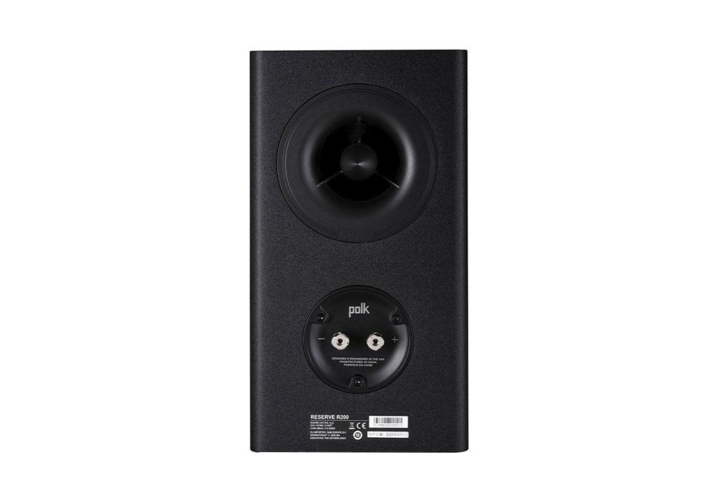 Polk Audio - R200/BLK(ブラック・ブックシェルフスピーカー・ペア)《JP》【在庫有り即納】