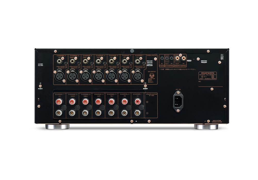 marantz - MM8077/FB(7chパワーアンプ)【200台限定生産モデル】《JP》【在庫有り即納】