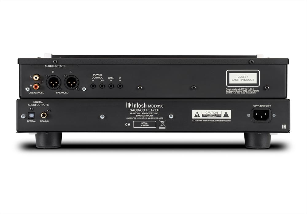 McIntosh - MCD350(SACD/CDプレーヤー)《JP》【メーカー取寄商品・納期を確認後、ご連絡いたします】