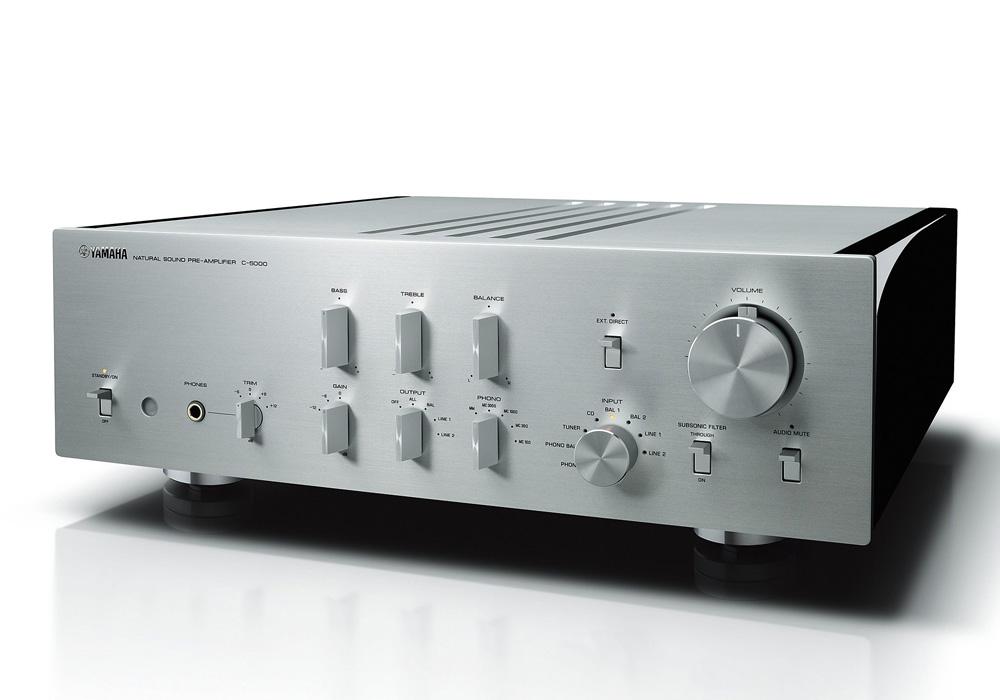 YAMAHA - C-5000/SP(シルバー)(プリアンプ)《JP》【在庫有り即納】