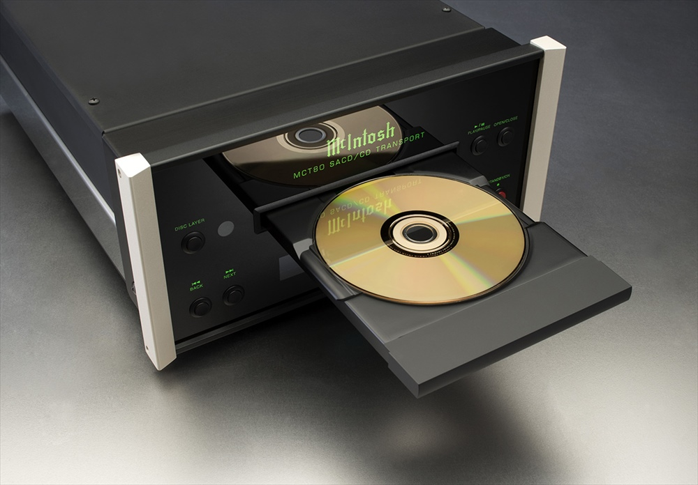 McIntosh - MCT80(SACD/CDトランスポート)《JP》【メーカー取寄商品・納期を確認後、ご連絡いたします】