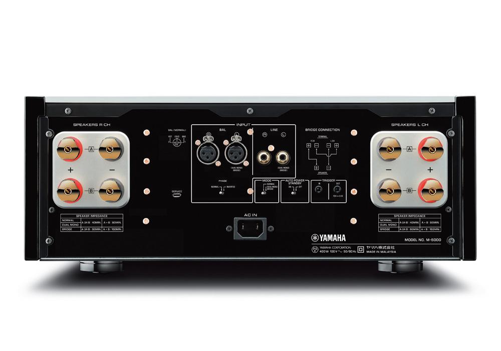 YAMAHA - M-5000/SP(シルバー)(ステレオ・パワーアンプ){大型YAM}《JP》【メーカー取寄商品・納期を確認後、ご連絡いたします】