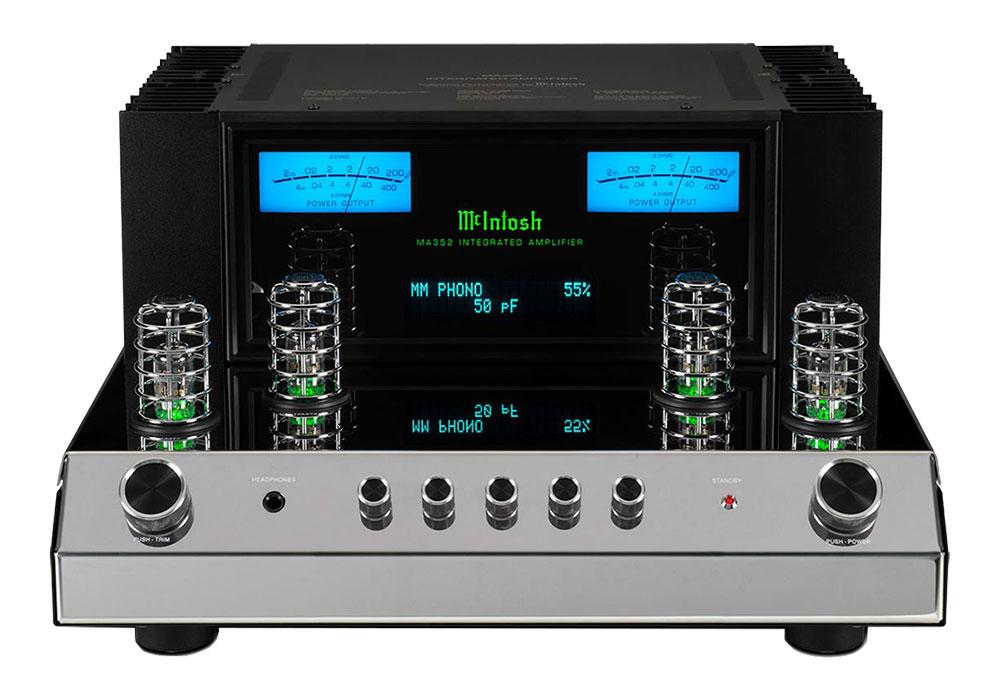 McIntosh - MA352(ハイブリッド・プリメインアンプ)《JP》【メーカー取寄商品・納期を確認後、ご連絡いたします】