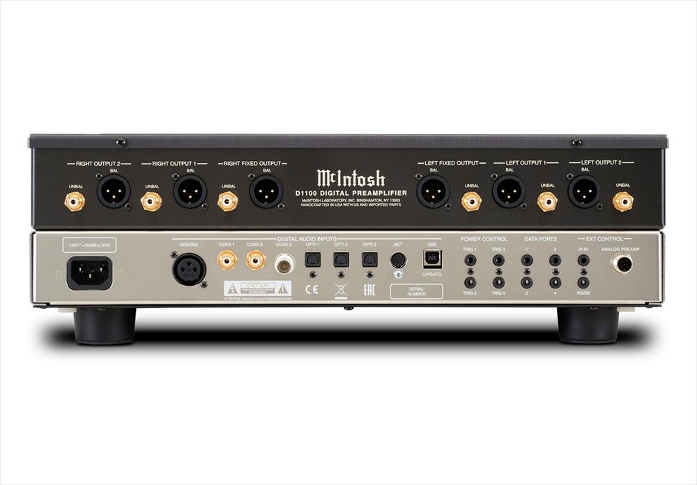 McIntosh - D1100(デジタルプリアンプ)《JP》【メーカー取寄商品・納期を確認後、ご連絡いたします】