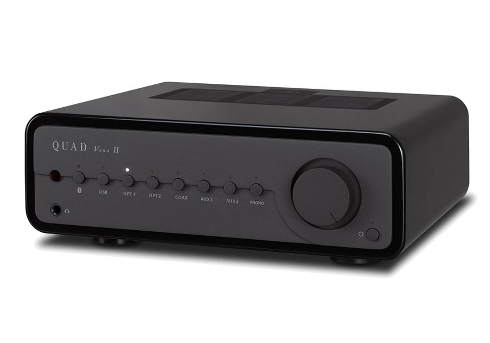 QUAD - VenaII/BH(ブラック・ハイグロス)(USB/DAC内蔵・プリメインアンプ)《JP》【在庫有り即納】