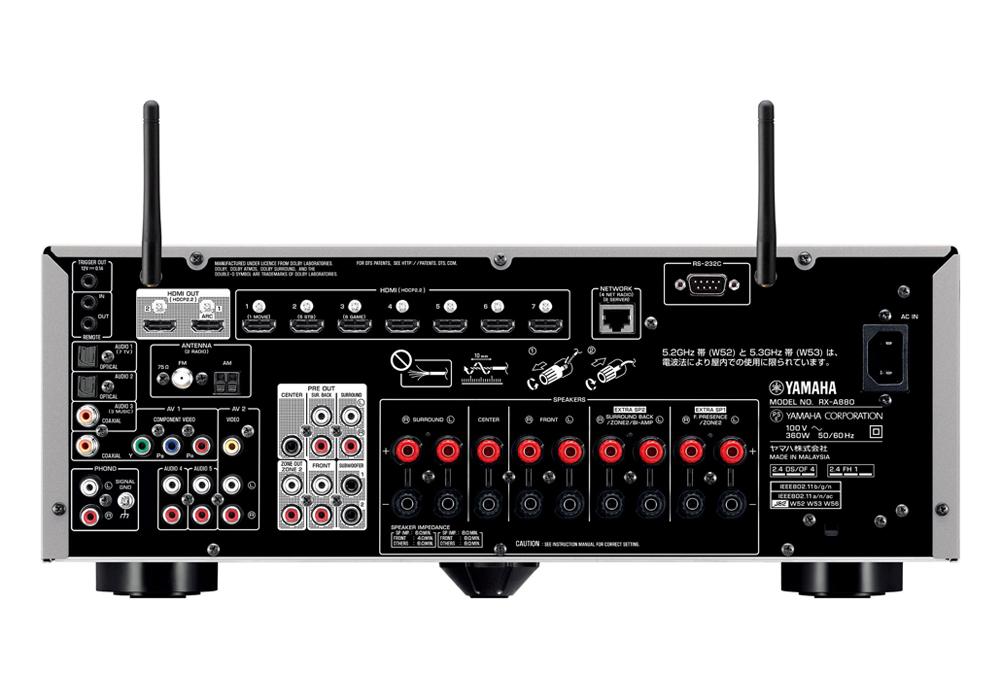 YAMAHA - RX-A880-H/チタン(7.1ch・AVレシーバー)《JP》【完売】