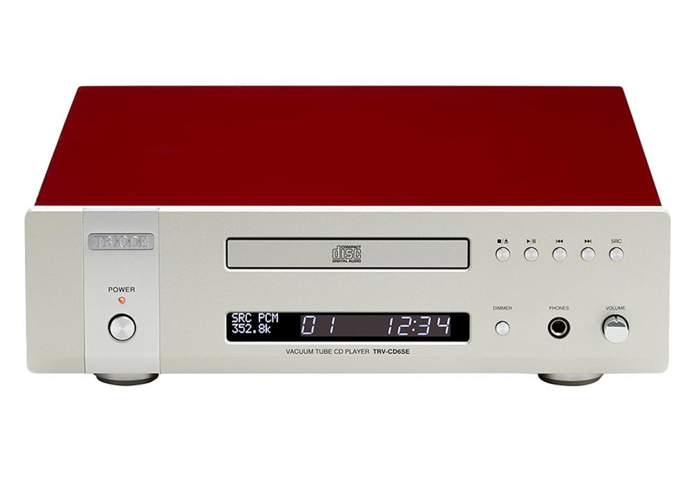 TRIODE - TRV-CD6SE/レッド(真空管バッファ搭載・CDプレーヤー)《JP》【在庫有り即納】