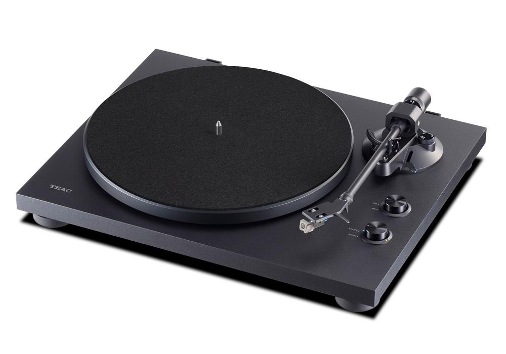 TEAC - TN-280BT/ブラック(TN-280BT-A3)(Bluetoothトランスミッター搭載・アナログターンテーブル)《JP》【在庫有り即納】