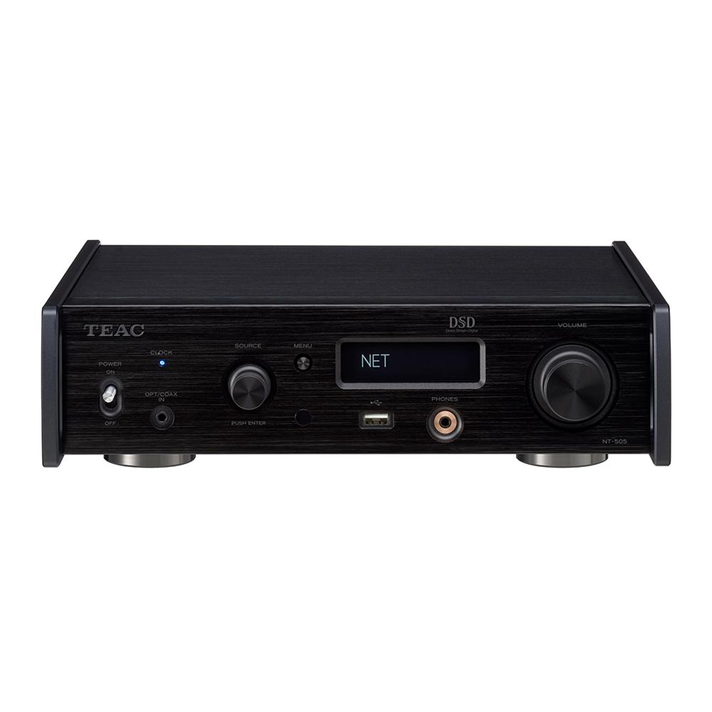 TEAC - NT-505-X(ブラック)(USB DAC・ネットワークプレーヤー)《JP》【在庫有り即納】