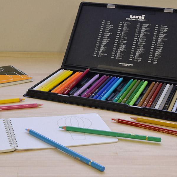 三菱鉛筆 油性色鉛筆 ユニカラー 36色セット