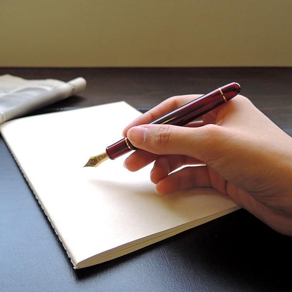 プラチナ万年筆 #3776センチュリー ブルゴーニュ 万年筆 F(細字)