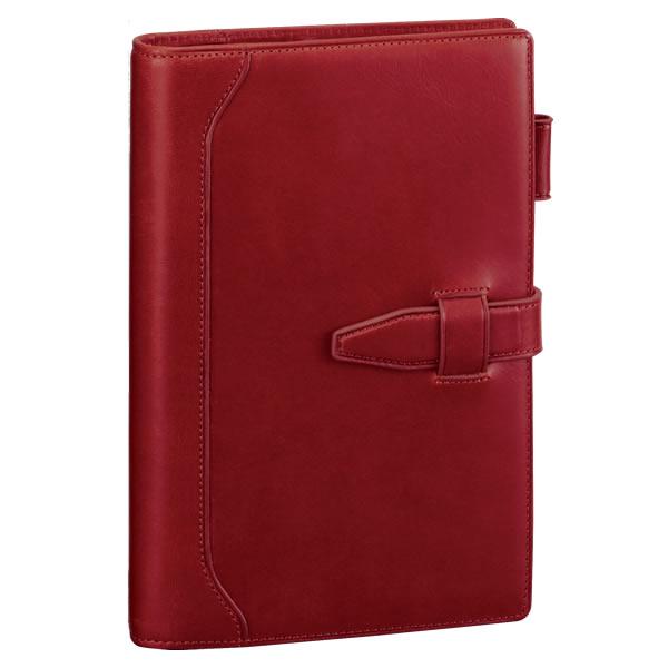 【名入れ可】ダ・ヴィンチ グランデ オリーブレザー 聖書サイズ ワイン システム手帳(リング15mm)